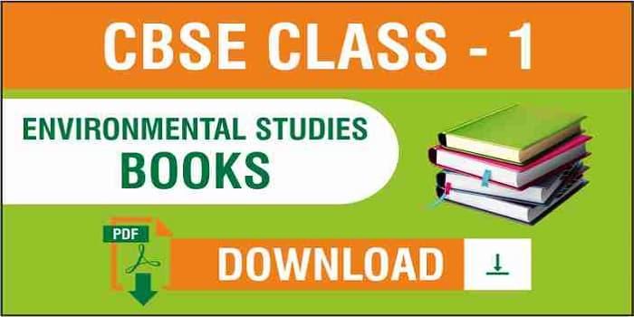 CBSE Class 1 EVS NCERT Books