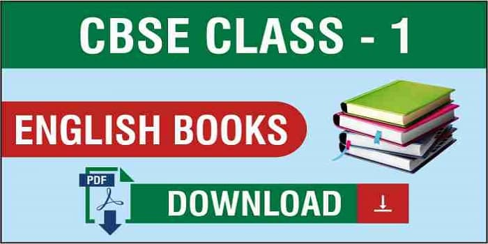 CBSE Class 1 English Book