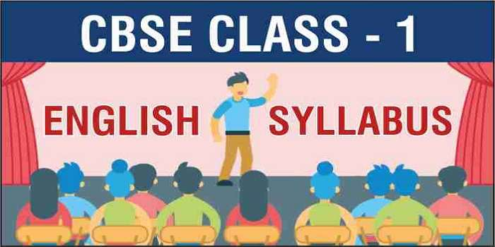 CBSE Class 1 English Syllabus