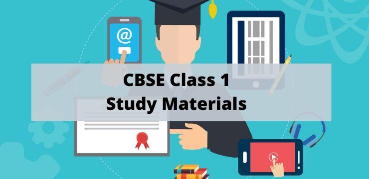 CBSE Class 1 Study Materials