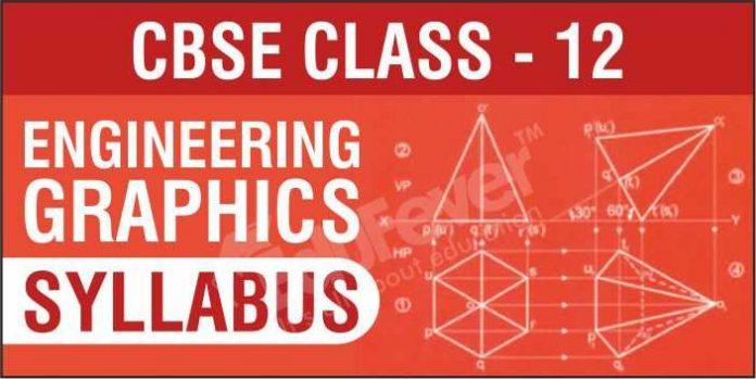 CBSE Class 12 Engineering Graphics Syllabus