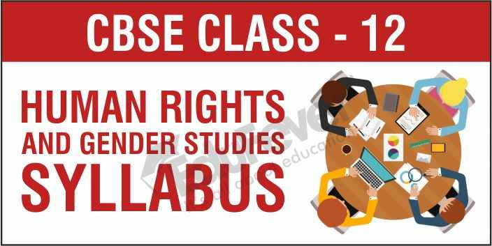 CBSE Class 12 Human Rights and Gender Studies
