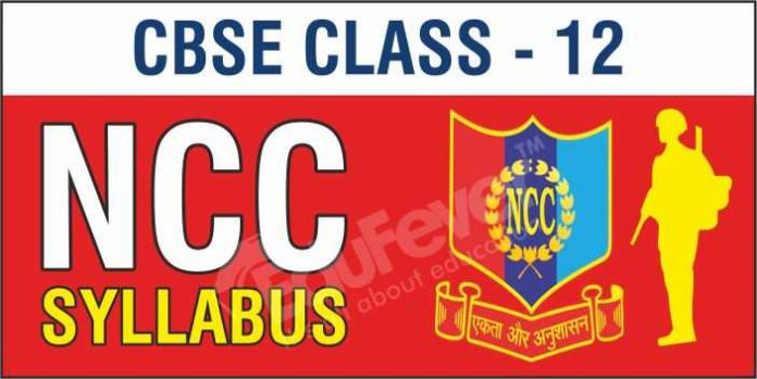 CBSE Class 12 NCC Syllabus