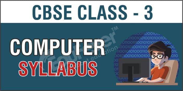 CBSE Class 3 Computer Syllabus