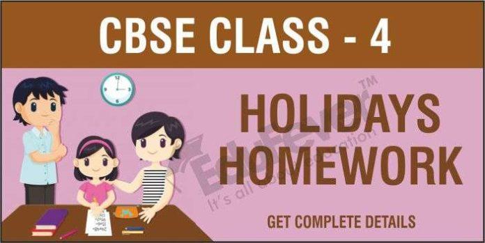 CBSE-Class-4-Holiday-Homework