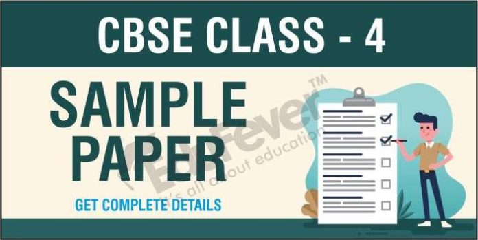 CBSE Class 4 Sample Paper