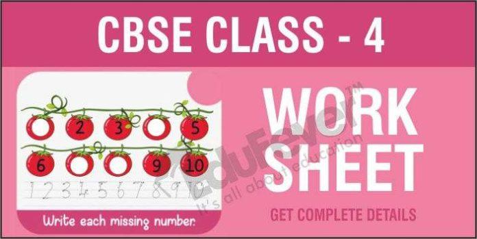 CBSE-Class-4-Worksheets