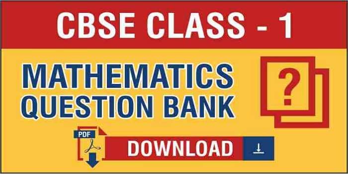 Class 1 Maths Question Bank