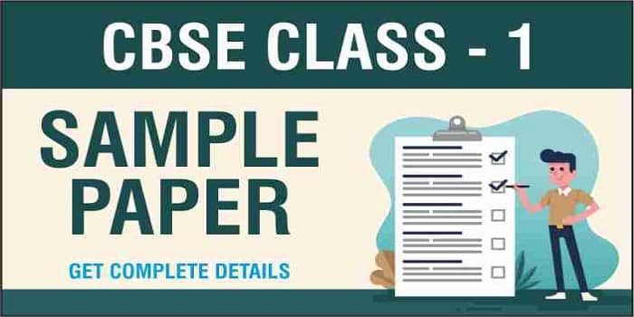 Class 1 Sample Papers