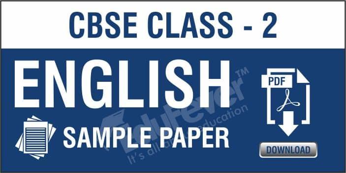 Class 2 English Sample Paper