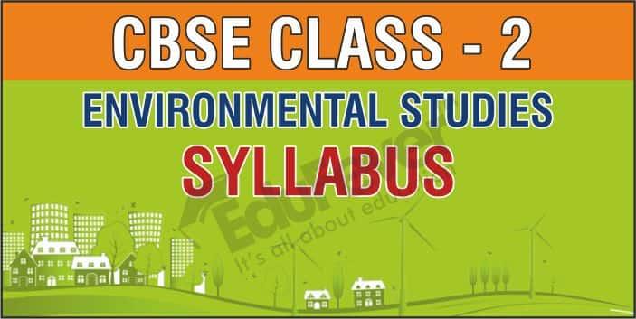 Class 2 Environment Studies Syllabus
