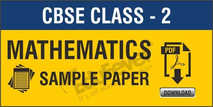 Class 2 Mathematics Sample Paper