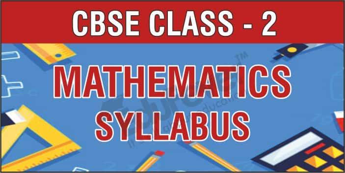 Class 2 Maths Syllabus