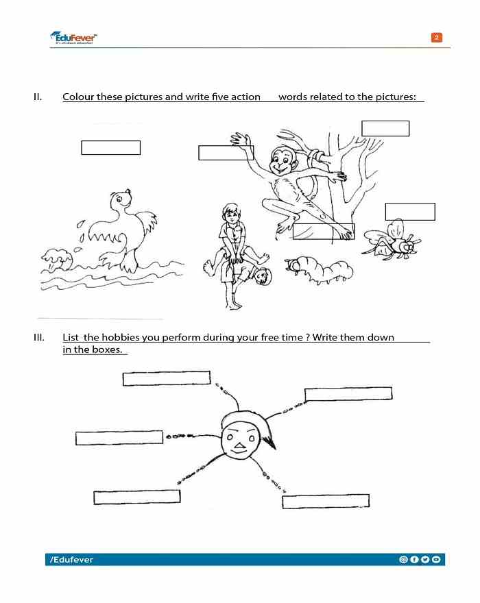 Class 3 English Worksheets