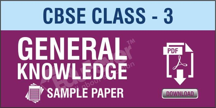 Class 3 GK Sample Papers