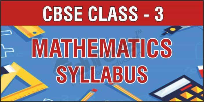 Class 3 Mathematics Syllabus