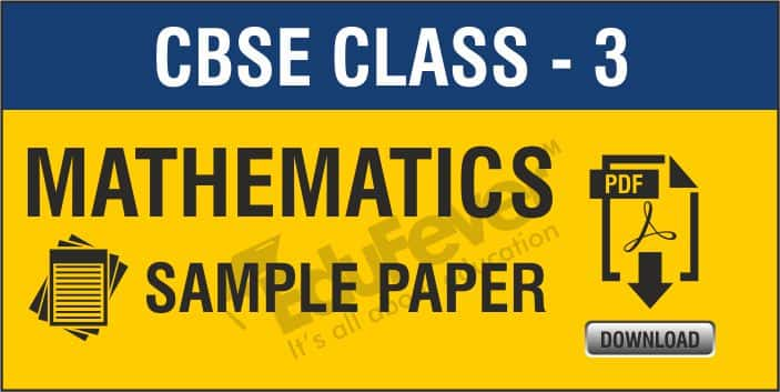 Class 3 Maths Sample Papers