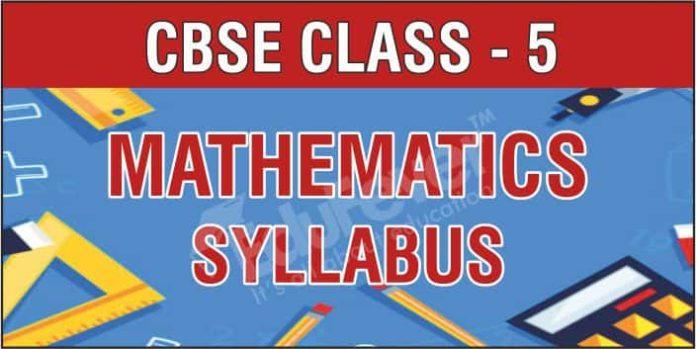 Class 5 Mathematics Syllabus