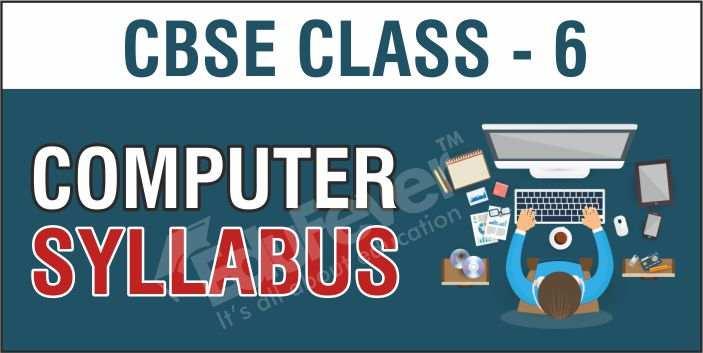 Class 6 Computer Syllabus