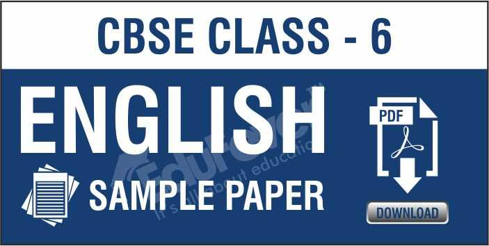 Class 6 English Sample Paper