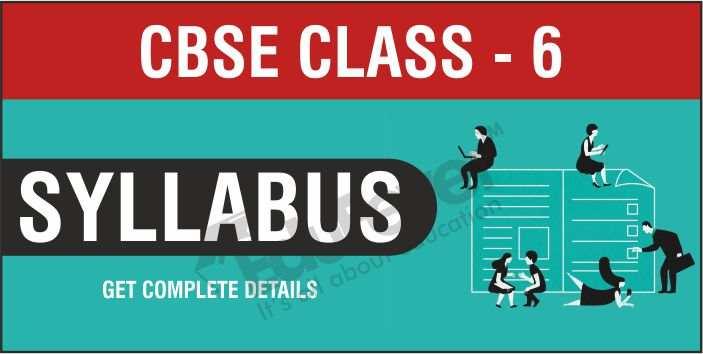 Class 6 Syllabus