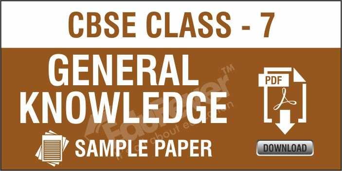 Class-7-GK-Sample-Paper