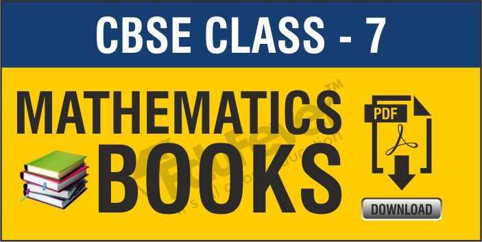 Class 7 Maths NCERT Book