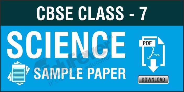 Class-7 Science Sample Paper