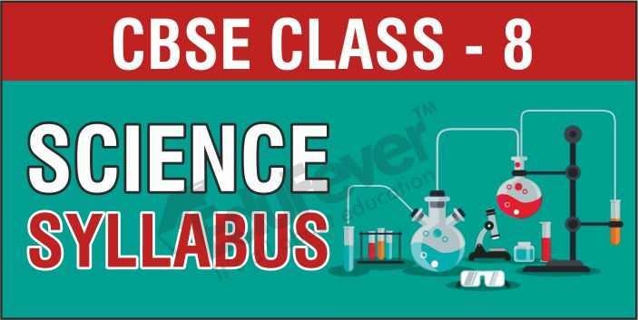 Class 8 Science Syllabus