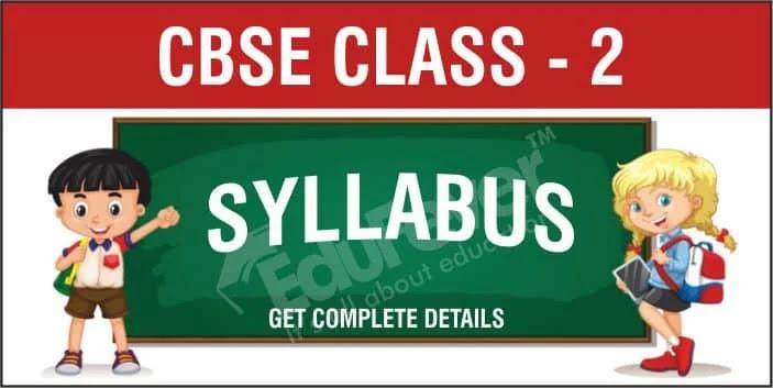 CBSE Class 2 Syllabus