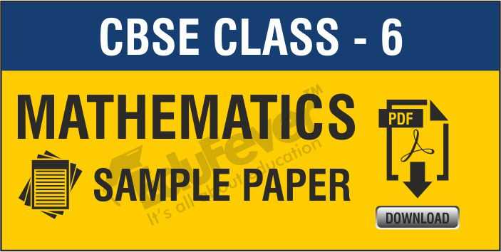 Class 6 Maths Sample Papers