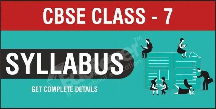 class 7 syllabus