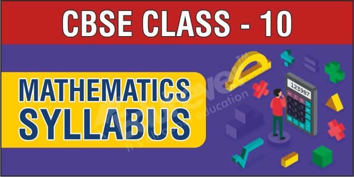 Class 10 Mathematics Syllabus