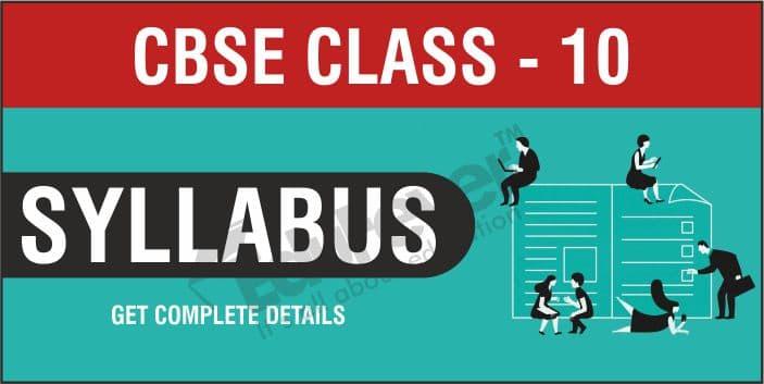Class 10 Syllabus
