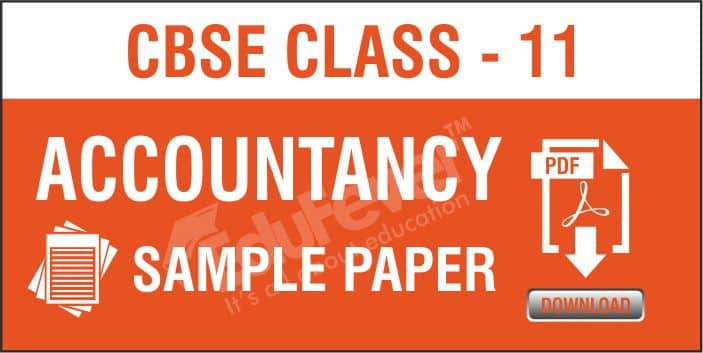 CBSE Class 11 Accountancy Sample Paper