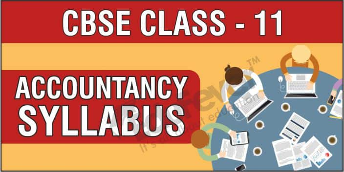 CBSE Class 11 Accountancy Syllabus 1