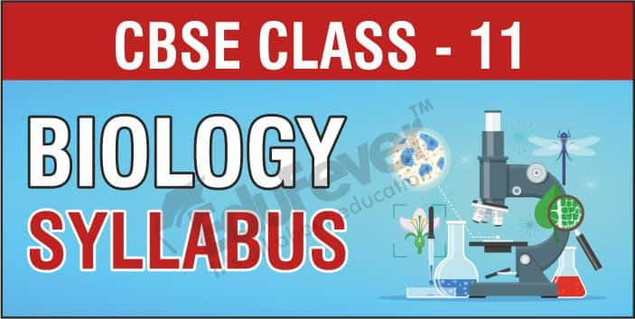 CBSE Class 11 Biology Syllabus