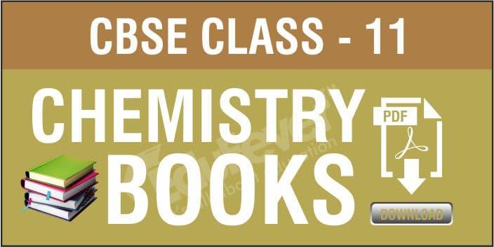 Class 11 Chemistry NCERT Books