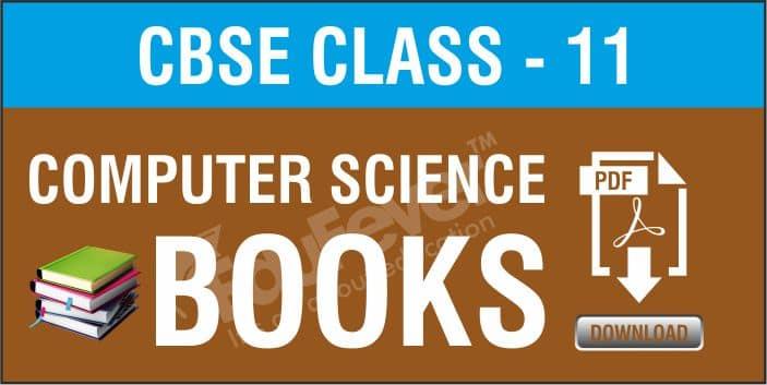 Class 11 Computer Science NCERT Books