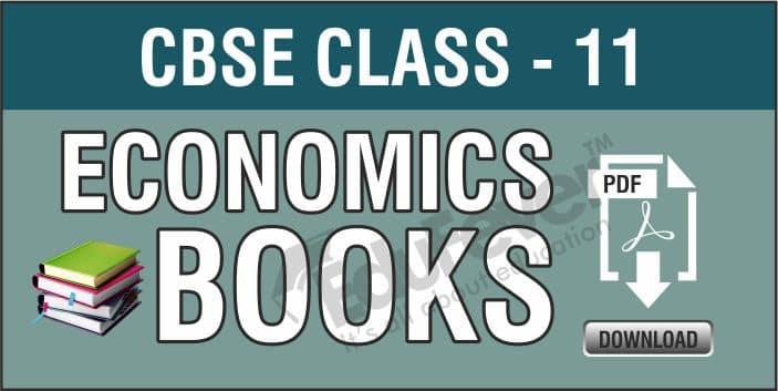 CBSE Class 11 Economics NCERT Books