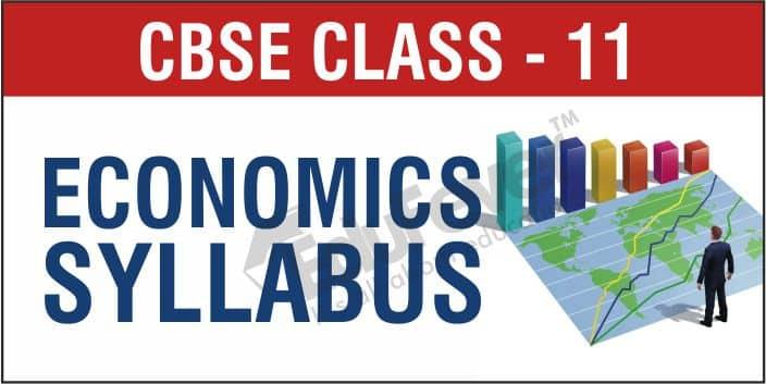 CBSE Class 11 Economics Syllabus 1