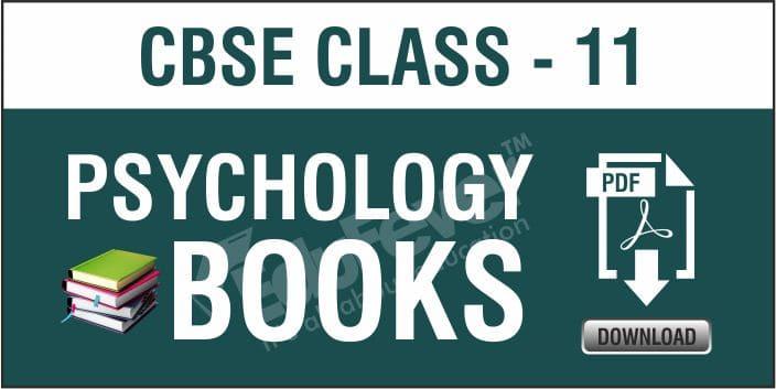 CBSE Class 11 Pschology NCERT Books