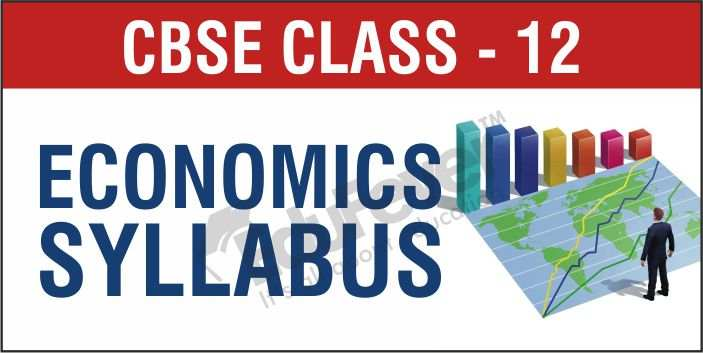 Class 12 Economics Syllabus