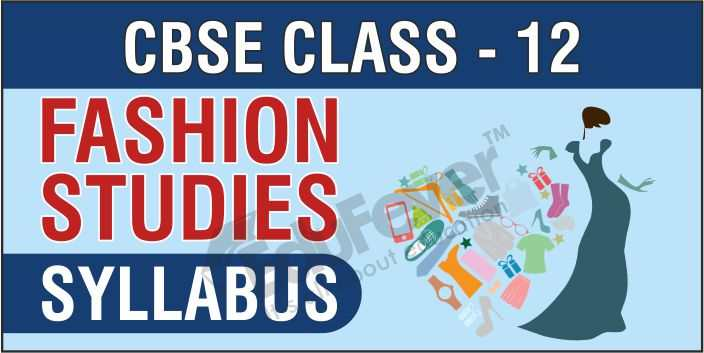 Class 12 Fashion Studies Syllabus