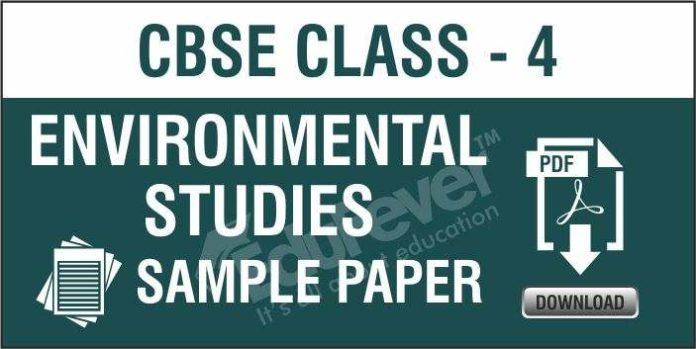 CBSE Class 4 EVS Sample Paper