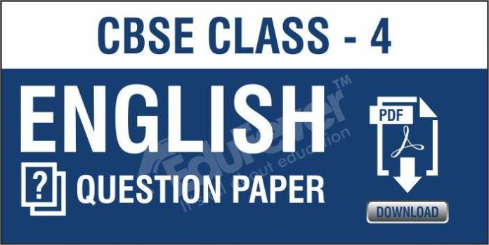 CBSE-Class-4-English-Questions-Paper