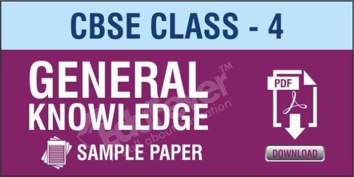 CBSE Class 4 GK Sample Paper