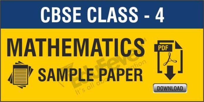 CBSE-Class-4-Mathematics-Sample-Paper