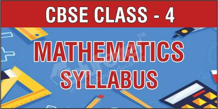 CBSE Class 4 Mathematics Syllabus
