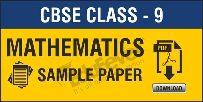 CBSE Class 9 Maths Sample Papers